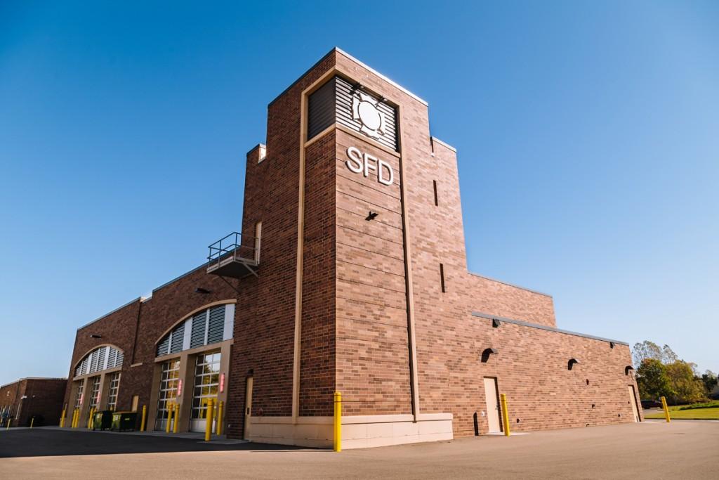 Main shot of Stillwater Fire Hall